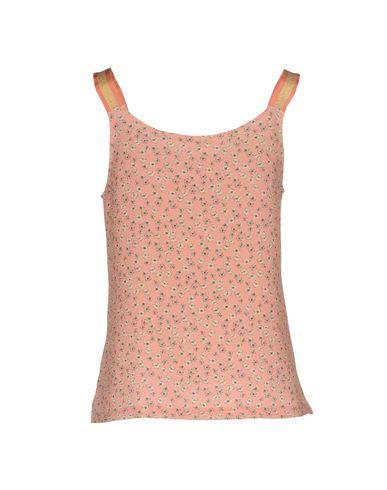 Фото 2 - Топ без рукавов розового цвета