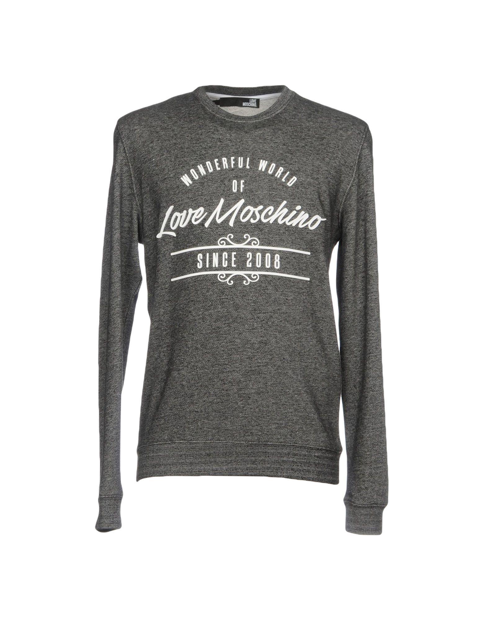 LOVE MOSCHINO Толстовка пуловер love moschino пуловер