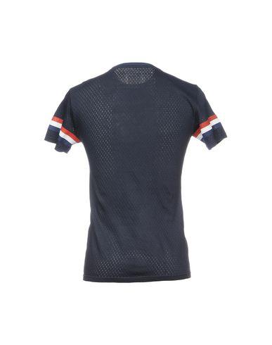Фото 2 - Женскую футболку BULK темно-синего цвета