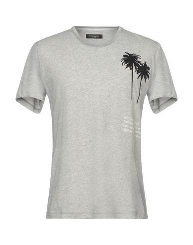Фото - Женскую футболку PAOLO PECORA светло-серого цвета