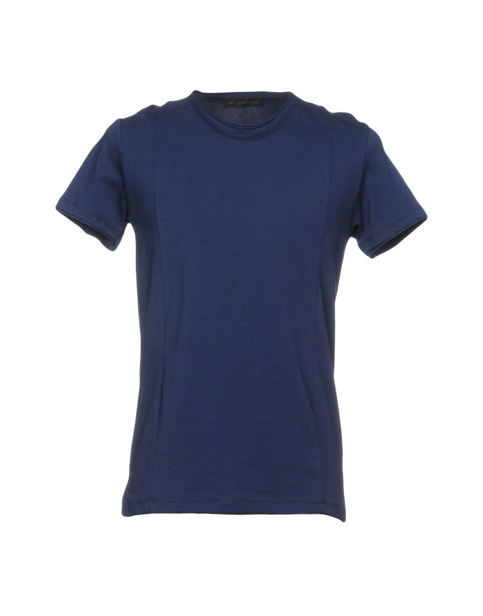 EN AVANCE Herren T-shirts Farbe Dunkelblau Größe 6 jetztbilligerkaufen