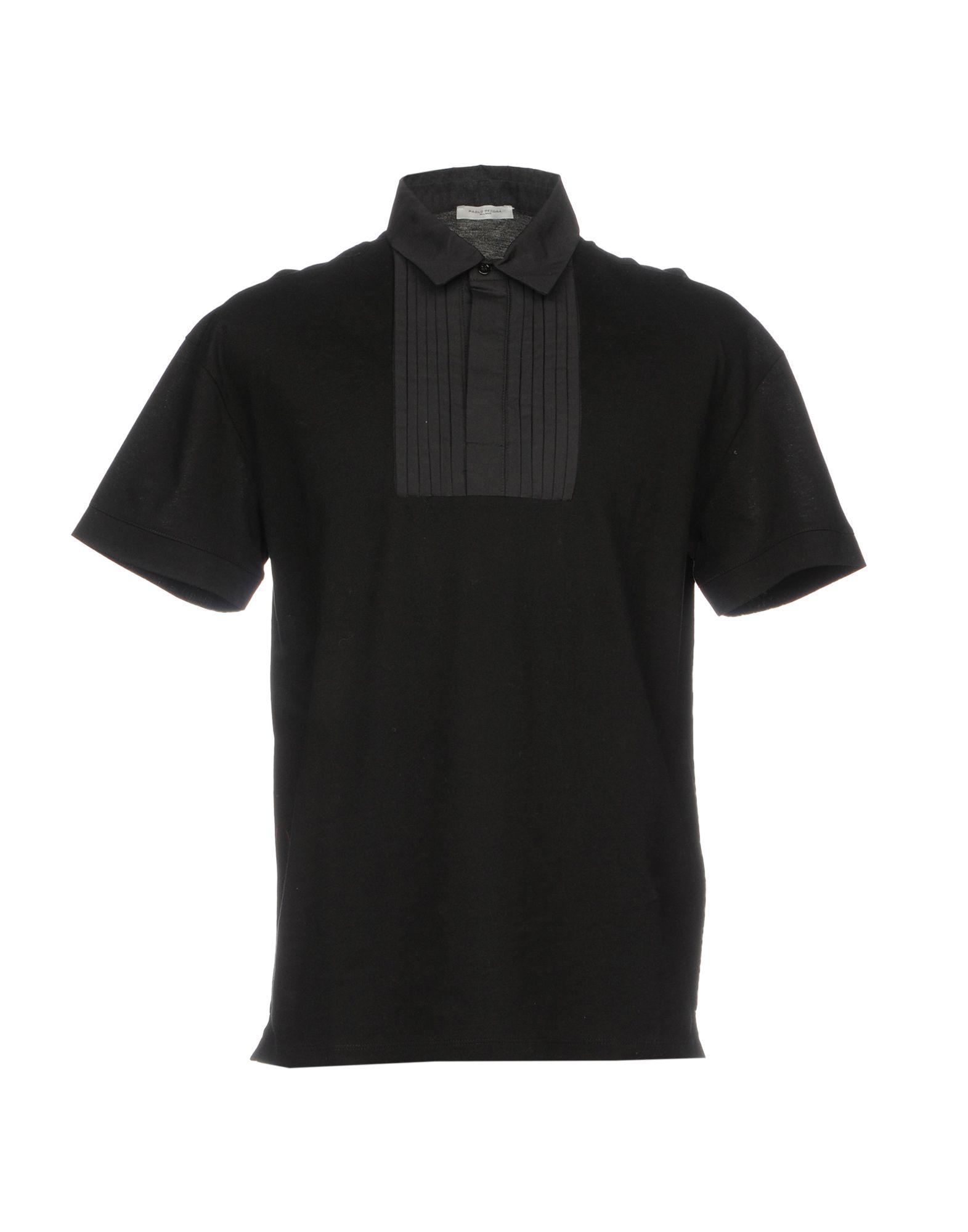 PAOLO PECORA Herren Poloshirt Farbe Schwarz Größe 8 jetztbilligerkaufen
