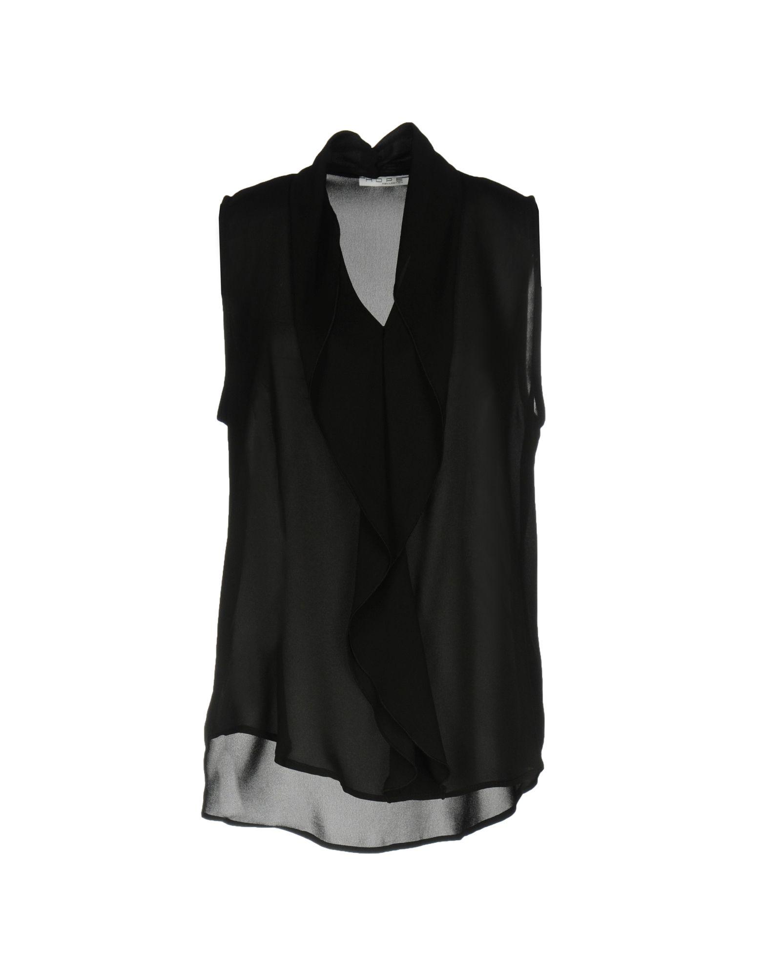 HOPE COLLECTION Damen Top Farbe Schwarz Größe 6 jetztbilligerkaufen