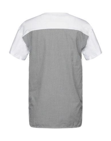 Фото 2 - Женскую футболку PAOLO PECORA белого цвета