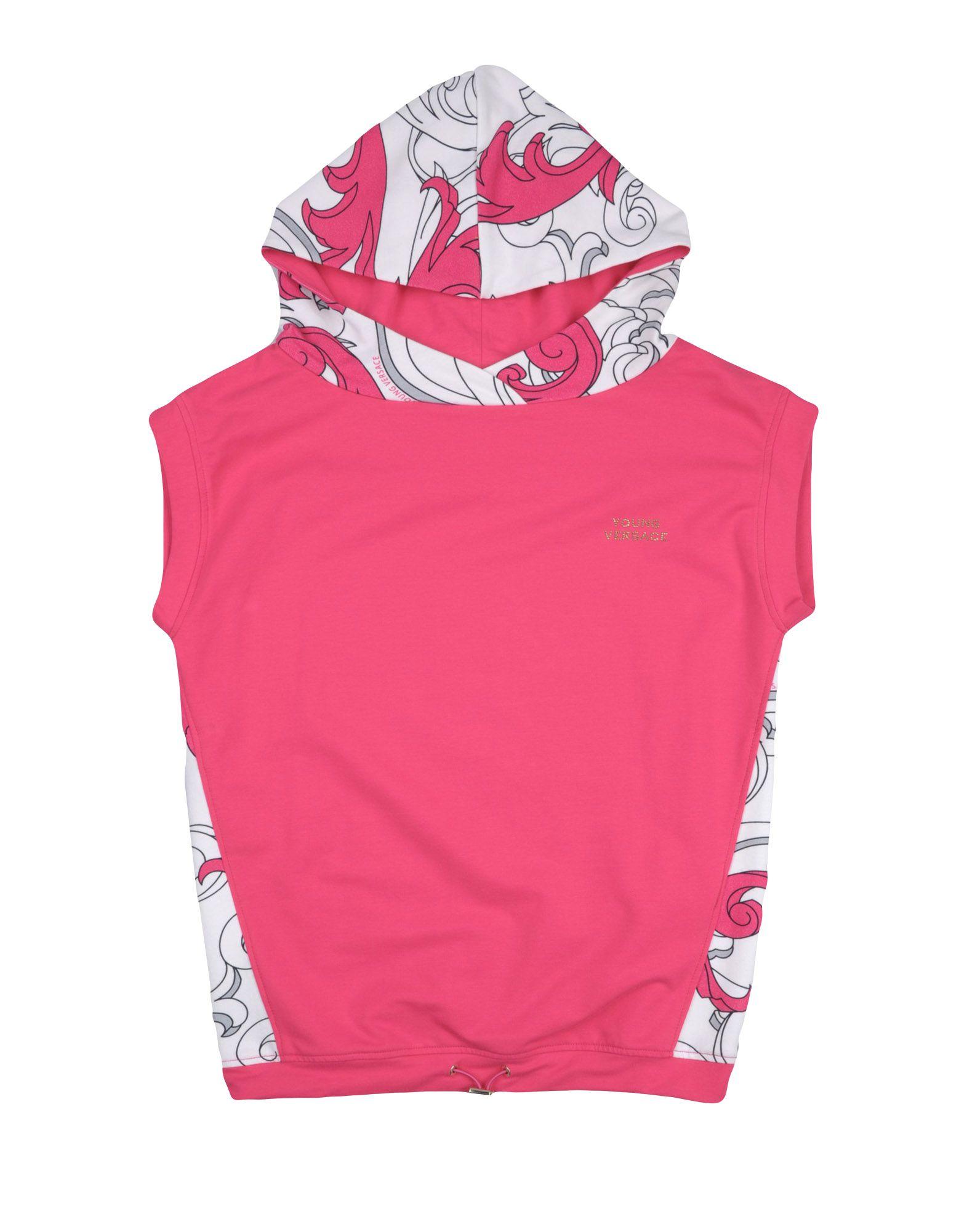 VERSACE YOUNG Mädchen 9-16 jahre Sweatshirt Farbe Fuchsia Größe 5 jetztbilligerkaufen