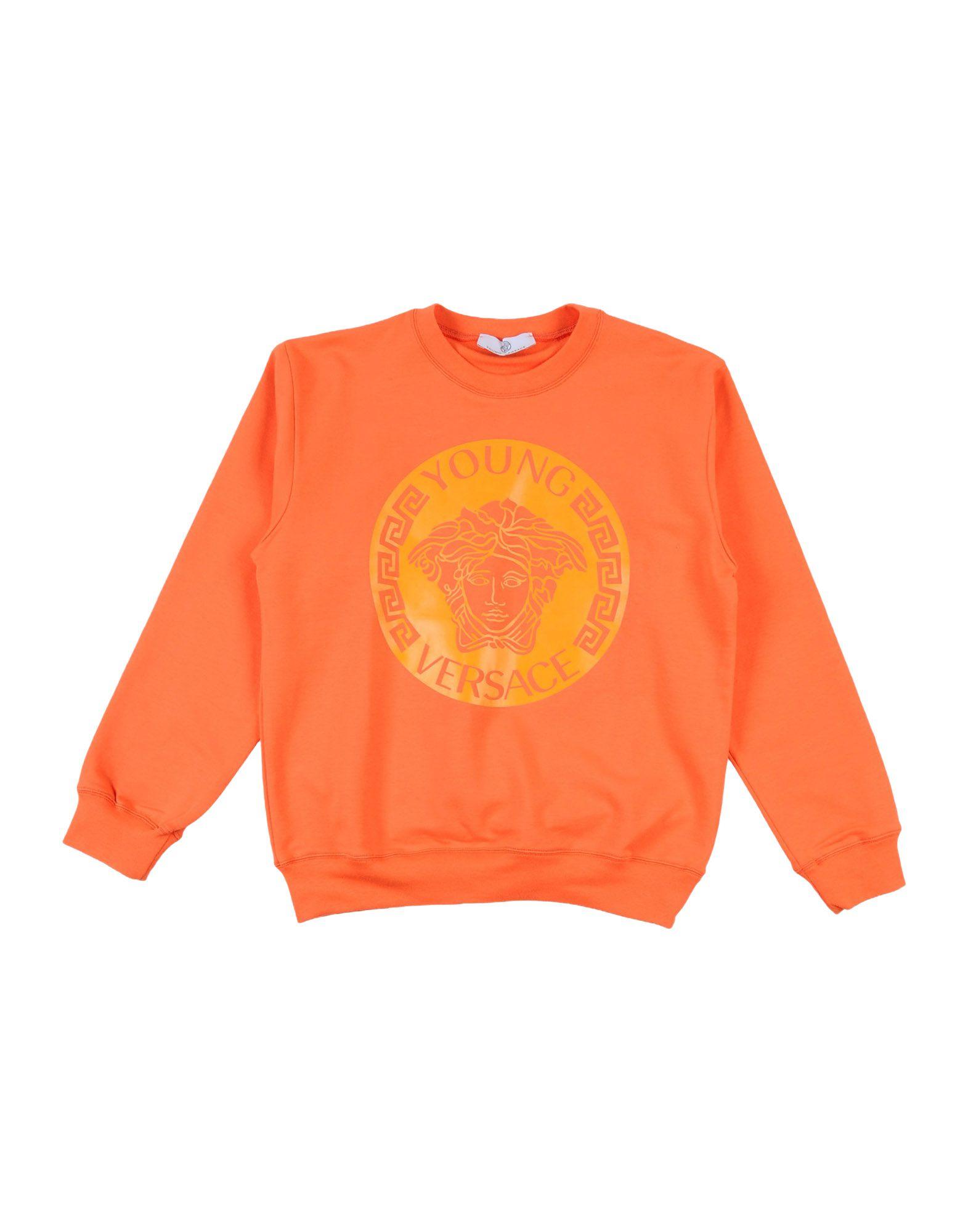 VERSACE YOUNG Jungen 9-16 jahre Sweatshirt Farbe Orange Größe 1 jetztbilligerkaufen