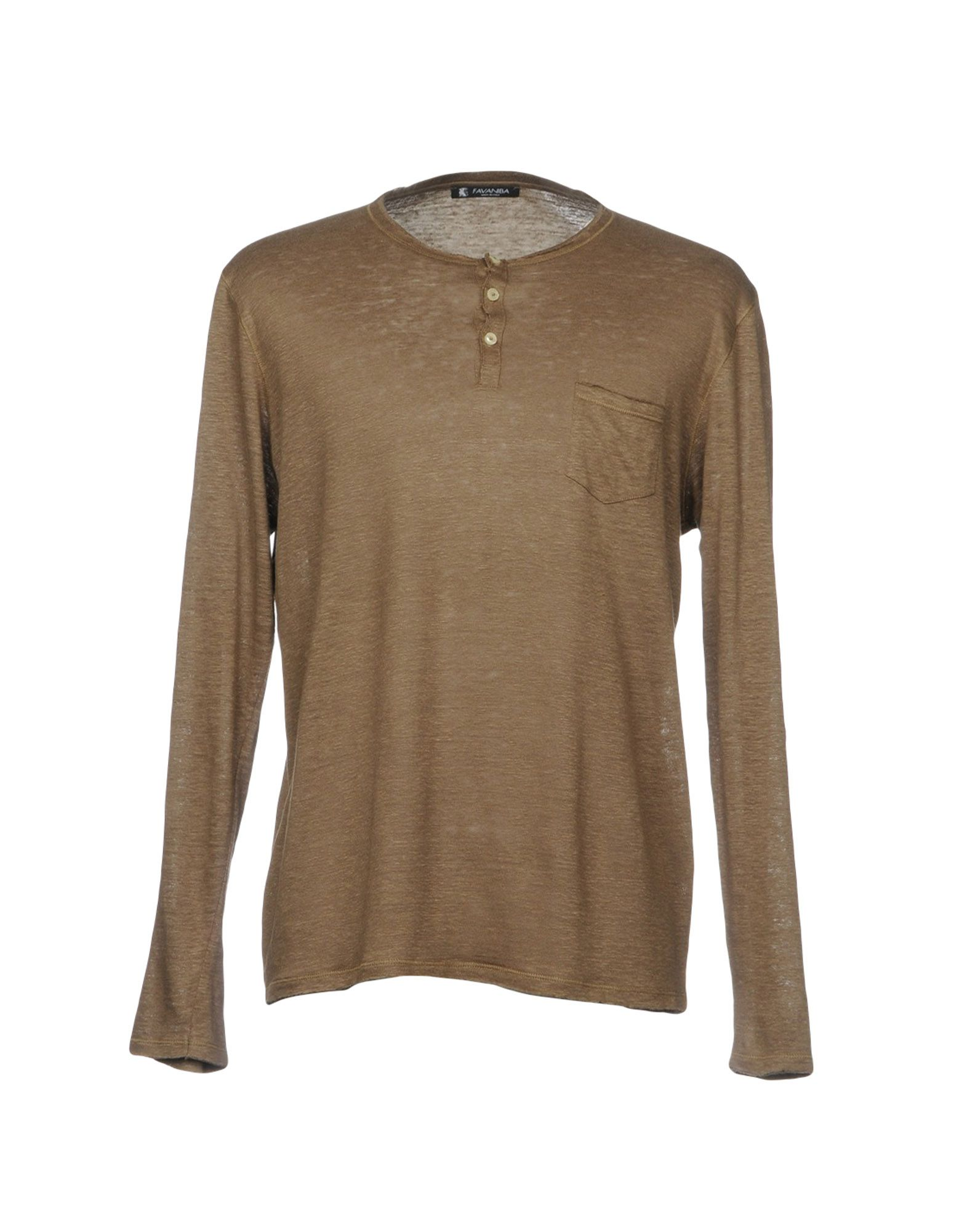 FAVANIBA Herren T-shirts Farbe Khaki Größe 5 jetztbilligerkaufen