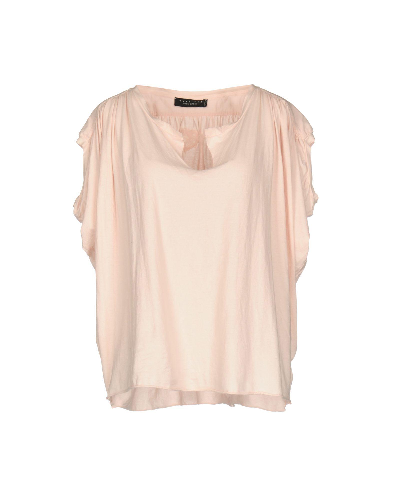 TWIN-SET Simona Barbieri Damen T-shirts Farbe Rosa Größe 4 jetztbilligerkaufen