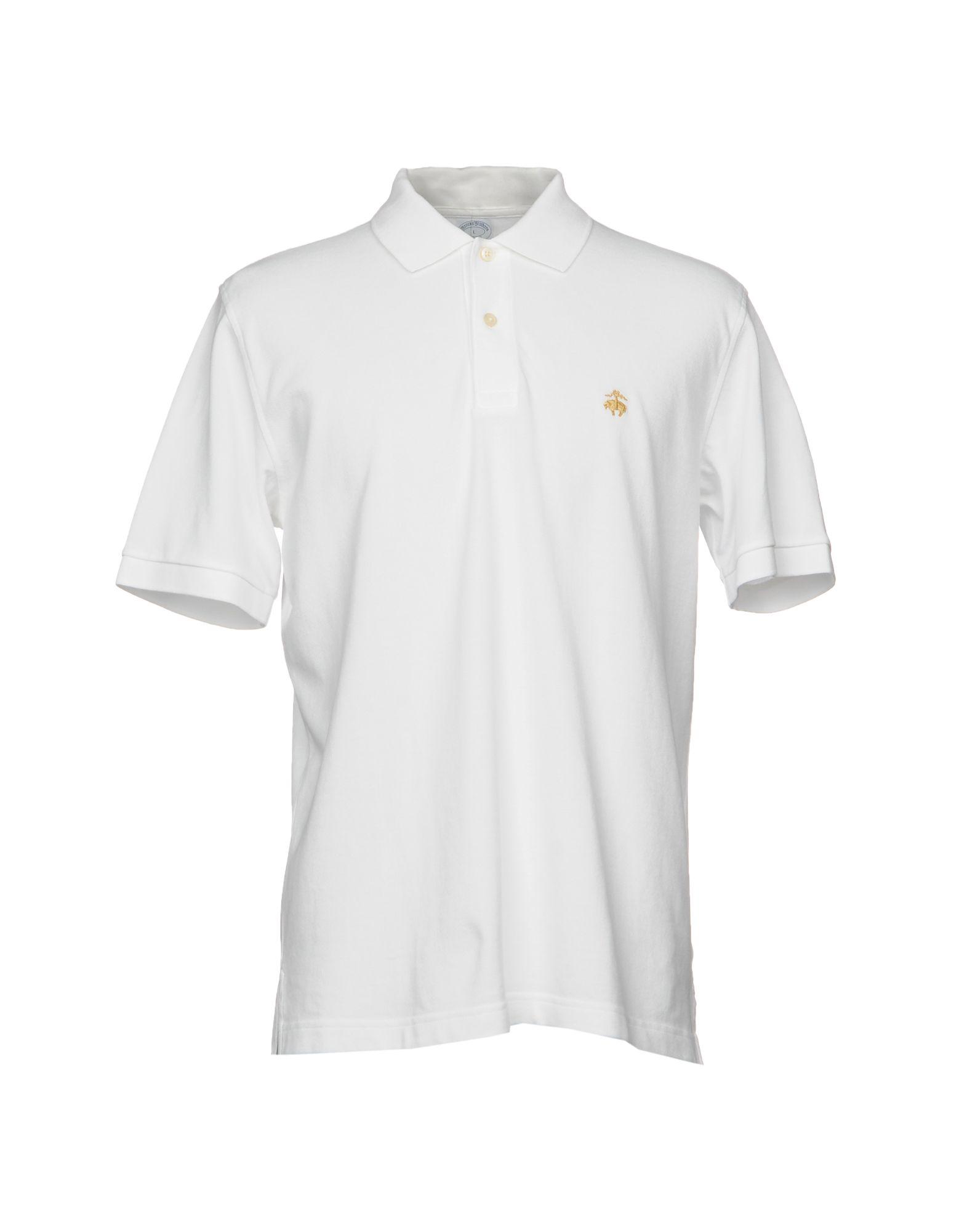 BROOKS BROTHERS Herren Poloshirt Farbe Weiß Größe 6 jetztbilligerkaufen
