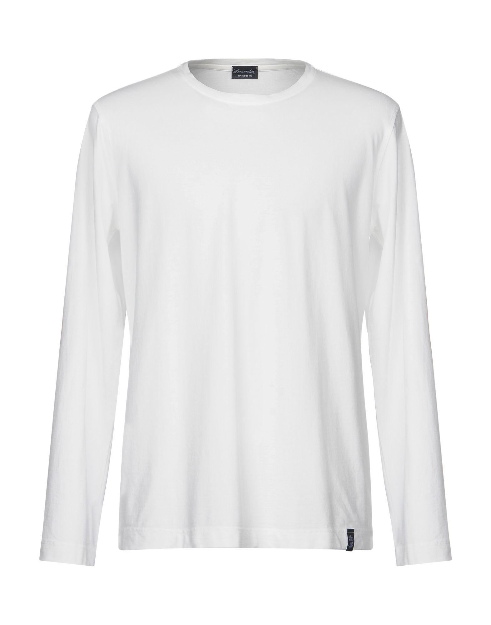DRUMOHR Herren T-shirts Farbe Weiß Größe 7 jetztbilligerkaufen