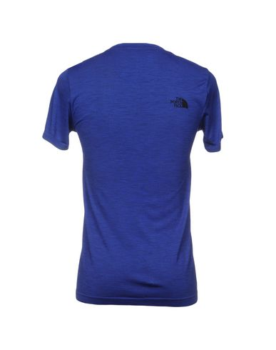 Фото 2 - Женскую футболку THE NORTH FACE ярко-синего цвета