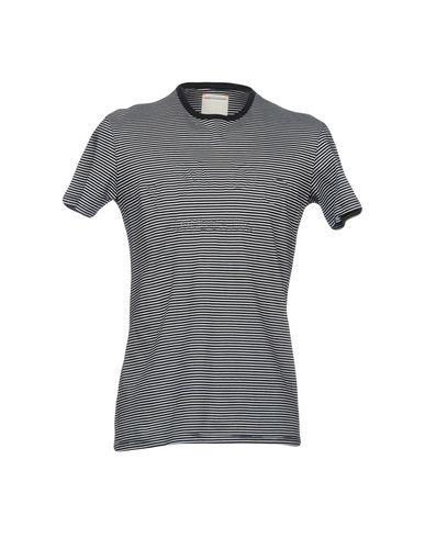 Фото - Женскую футболку PMDS PREMIUM MOOD DENIM SUPERIOR темно-синего цвета