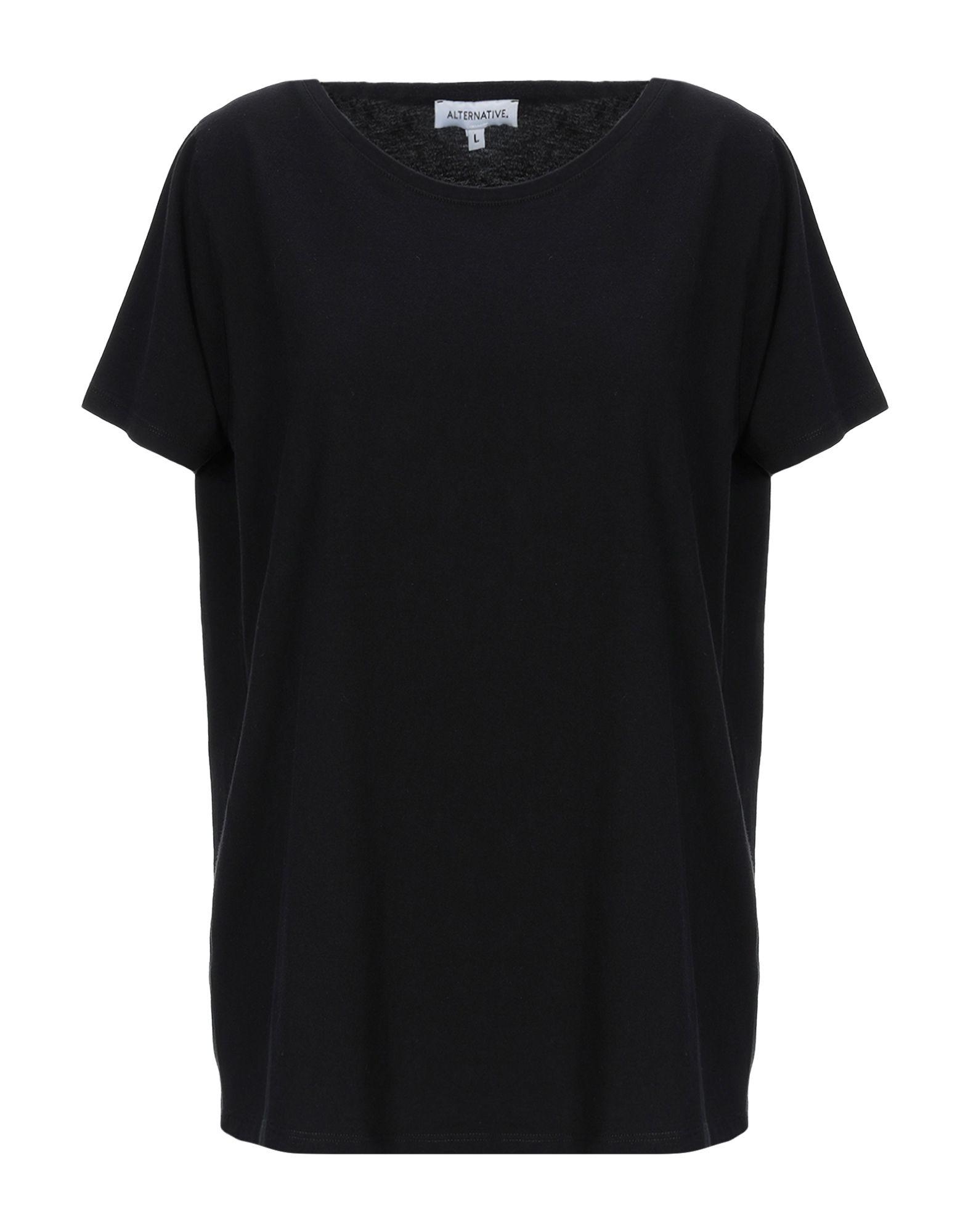 Alternative Organic Cotton T-shirt In True Black