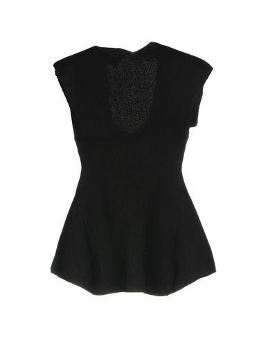 Фото 2 - Женскую футболку TY-LR черного цвета