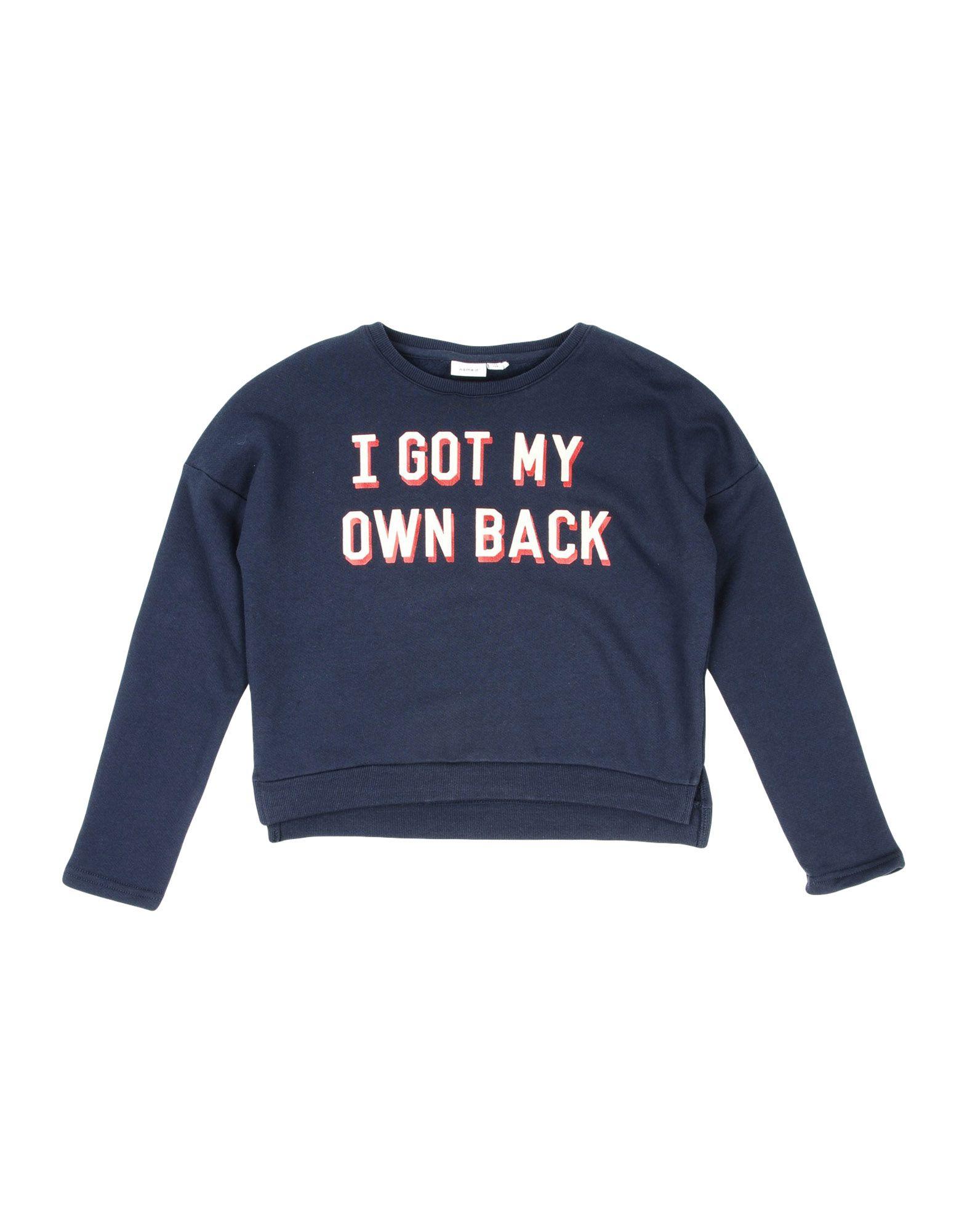 NAME IT® Mädchen 3-8 jahre Sweatshirt5 blau