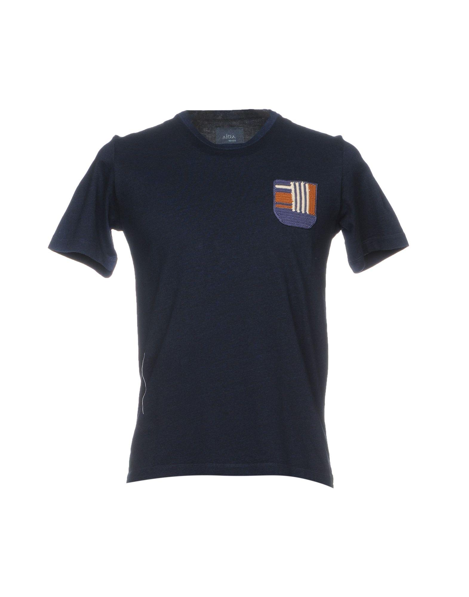 ALTEA dal 1973 Футболка altea dal 1973 джинсовая рубашка