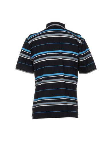 Фото 2 - Мужское поло MONTECHIARO® темно-синего цвета