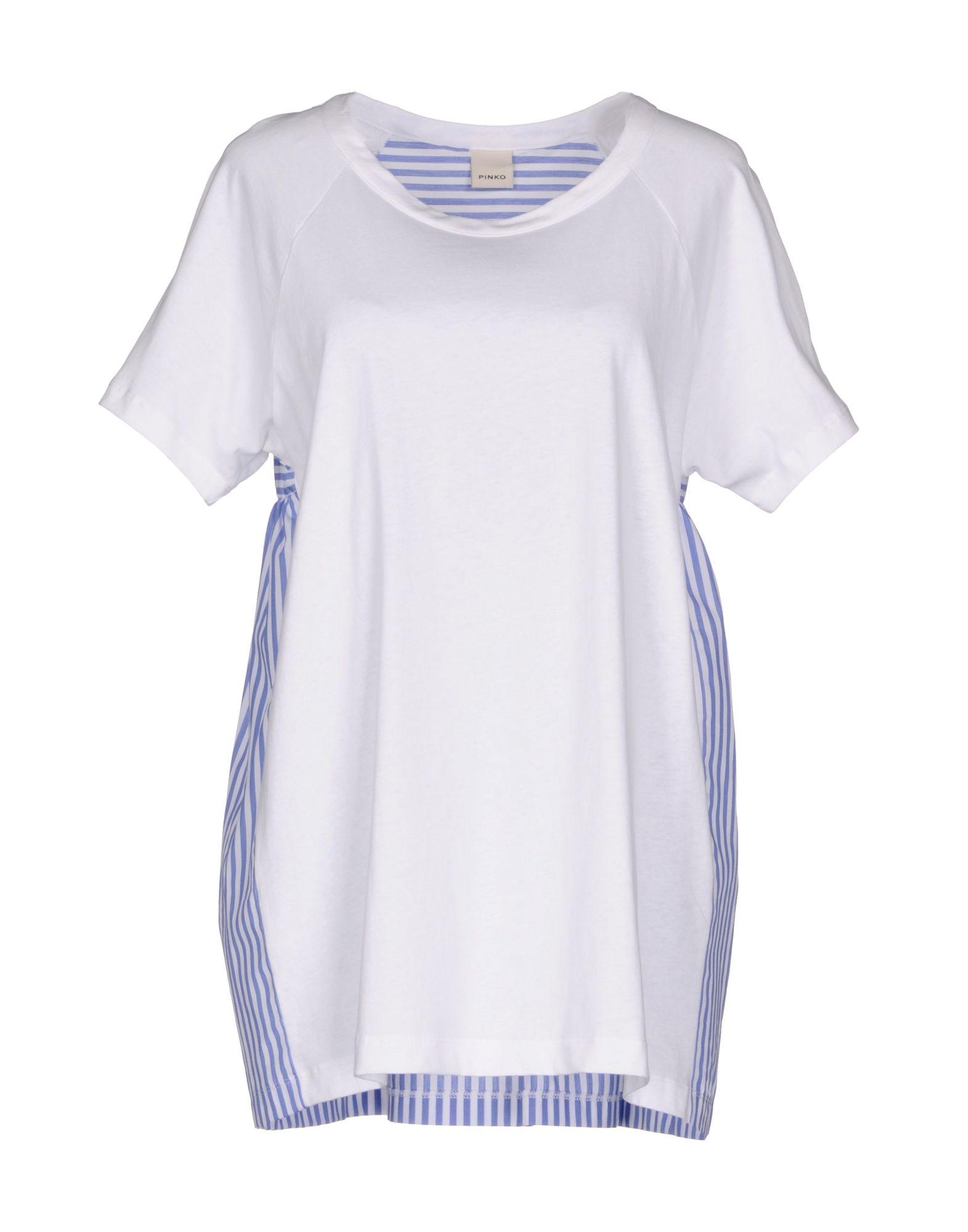 PINKO Damen T-shirts4 weiß