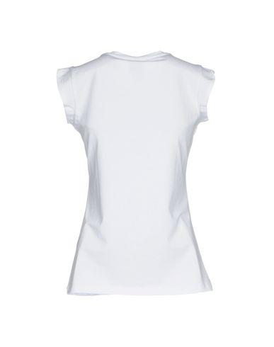 Фото 2 - Женскую футболку LE VOLIÈRE белого цвета