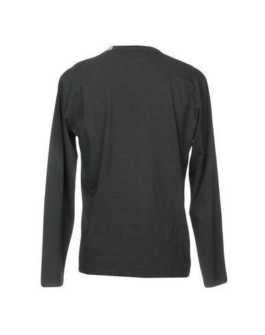Фото 2 - Женскую футболку  свинцово-серого цвета