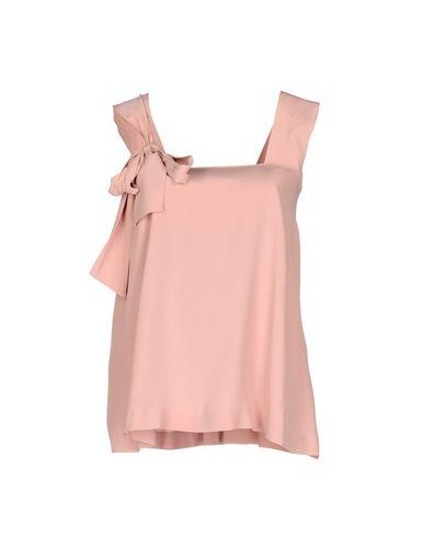 Купить Топ без рукавов пастельно-розового цвета