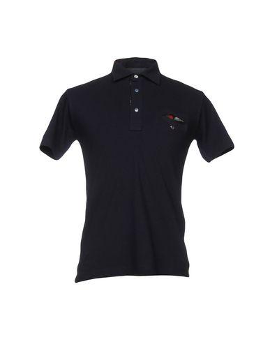 ALESSANDRO DELL'ACQUA メンズ ポロシャツ ブルー S コットン 100%