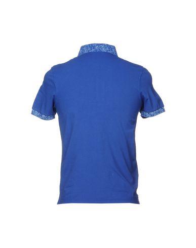 Фото 2 - Мужское поло SHOCKLY синего цвета