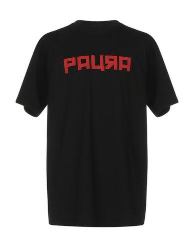 Фото - Женскую футболку PAURA черного цвета
