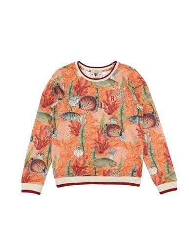 SCOTCH R'BELLE ガールズ 3-8 歳 スウェットシャツ オレンジ 5 コットン 55% / ナイロン 45%