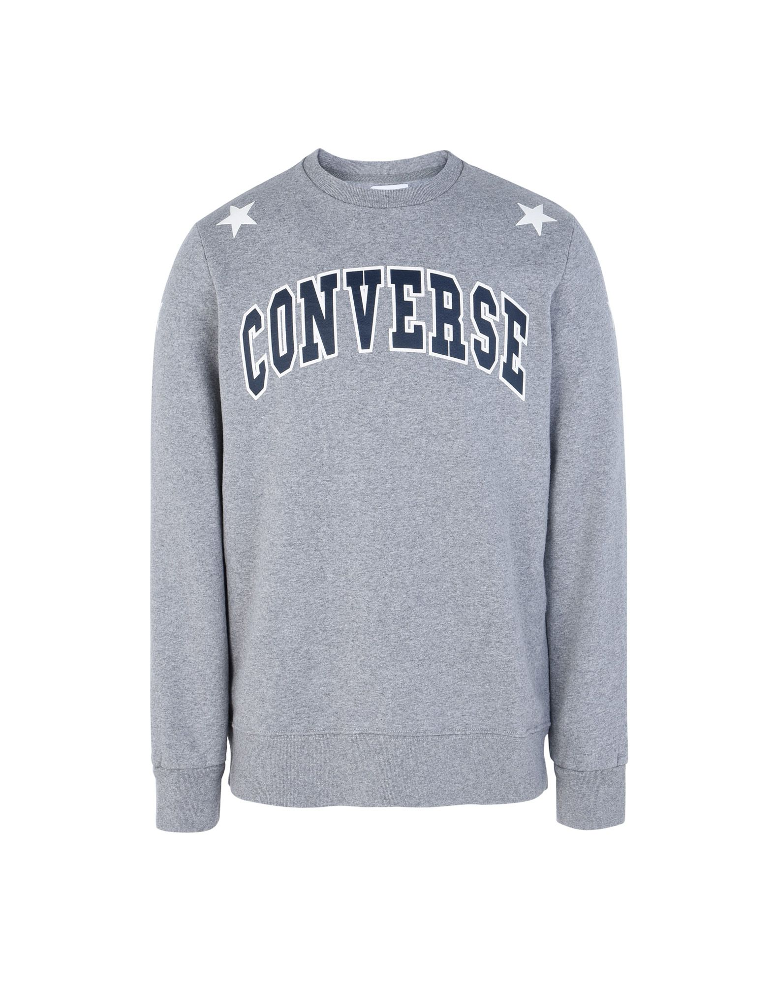 CONVERSE ALL STAR Herren Sweatshirt Farbe Grau Größe 4