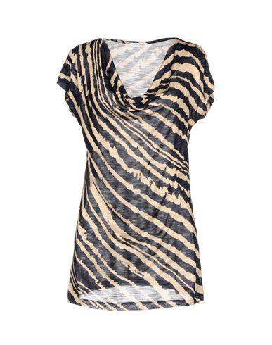 Фото - Женскую футболку GRAN SASSO темно-синего цвета