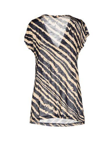 Фото 2 - Женскую футболку GRAN SASSO темно-синего цвета