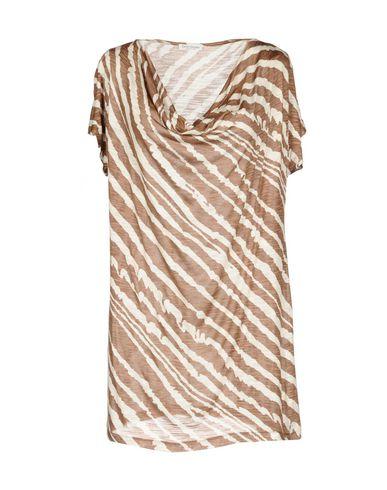 Фото - Женскую футболку GRAN SASSO светло-коричневого цвета