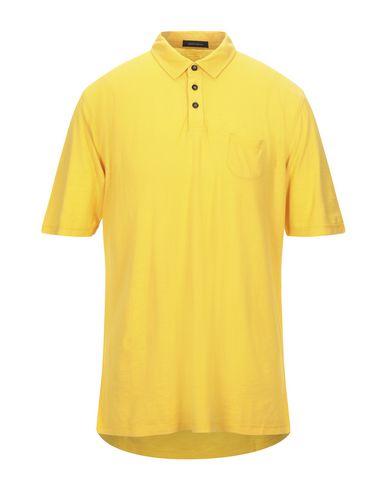 Фото - Мужское поло ROBERTO COLLINA желтого цвета