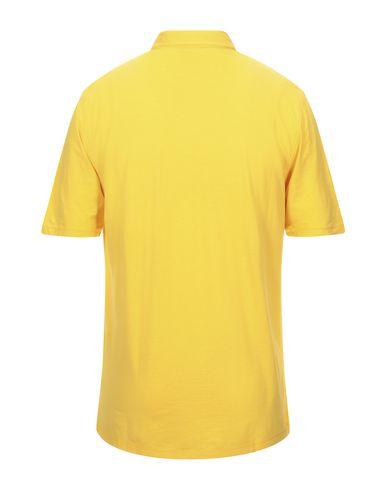 Фото 2 - Мужское поло ROBERTO COLLINA желтого цвета
