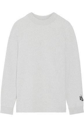 NIKE NikeLab Essentials French stretch-cotton terry sweatshirt