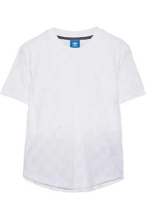 ADIDAS Burnout jersey T-shirt