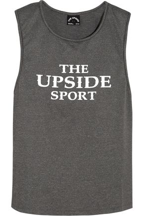 THE UPSIDE Rissa printed stretch-jersey tank