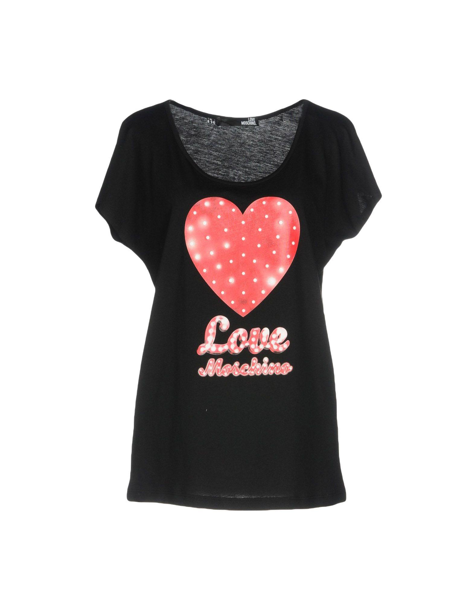 LOVE MOSCHINO Футболка пуловер love moschino пуловер
