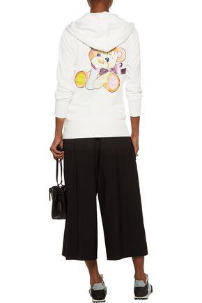 Y-3 + adidas Originals printed cotton hooded sweatshirt