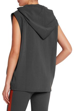 LAAIN Stretch-jersey hooded top