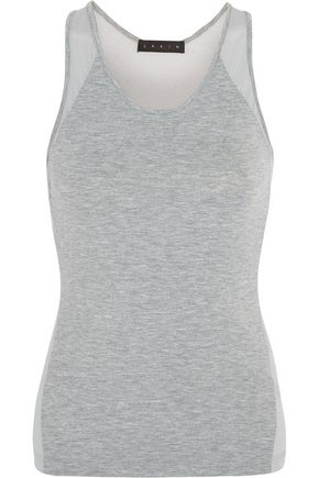 LAAIN Mesh and jersey tank