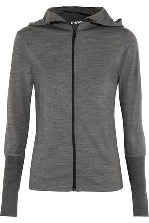 MOVER® Merino wool hooded top