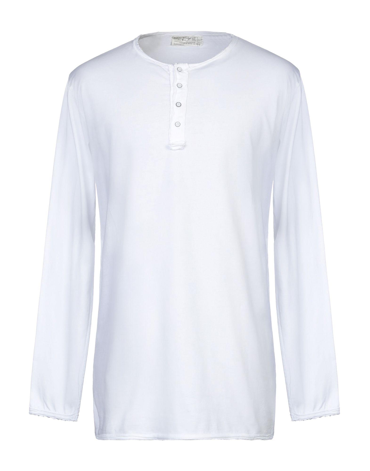《セール開催中》ATHLETIC VINTAGE メンズ T シャツ ホワイト XL コットン 100%