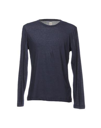 Фото - Женскую футболку ELEVENTY темно-синего цвета