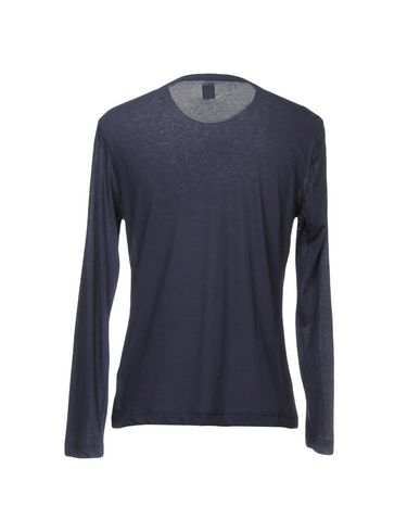 Фото 2 - Женскую футболку ELEVENTY темно-синего цвета
