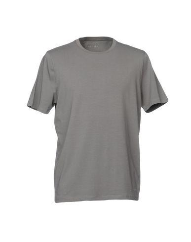 Фото - Женскую футболку ALPHA STUDIO серого цвета