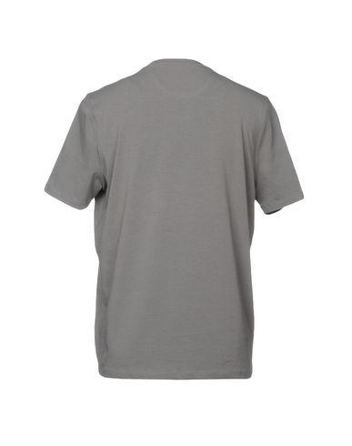 Фото 2 - Женскую футболку ALPHA STUDIO серого цвета