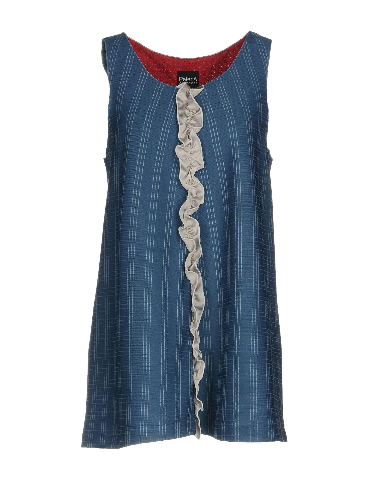 PETER A & CHRONICLES Топ без рукавов сувенир ohmypeter значок деревянный цветной peter hi в блистере omp40081