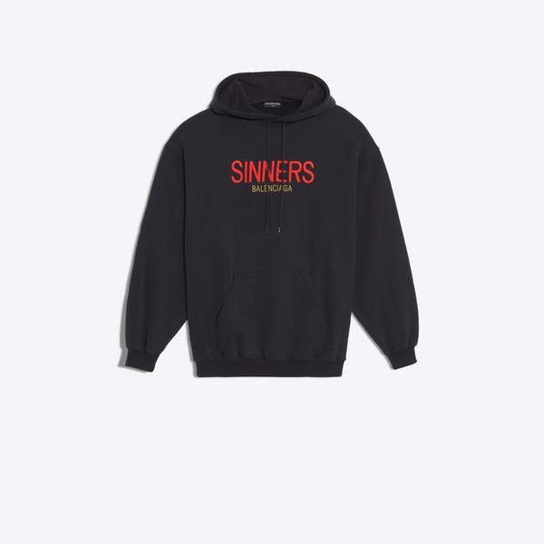 オーバーサイズ フーディセーター 'Sinners'